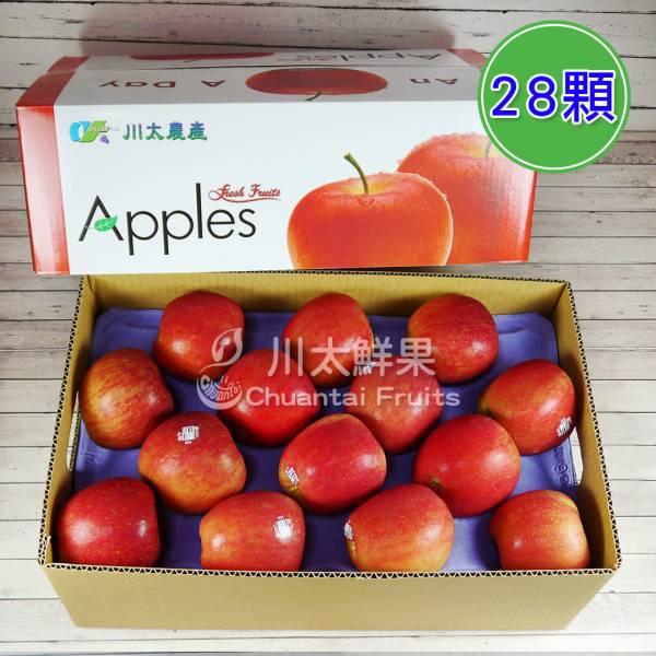 美國-富士蘋果、28顆、免運 美國富士蘋果,富士蘋果,進口水果,水果箱,蘋果,好吃的蘋果,國外水果,水果宅配