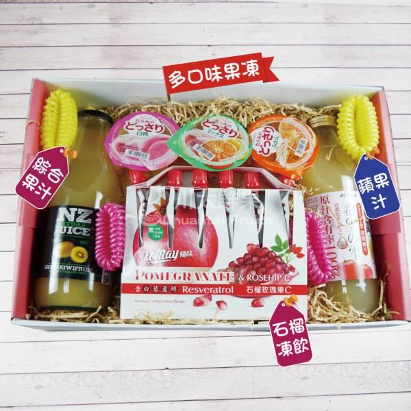 綜合果汁/蘋果汁/果凍/石榴凍飲禮盒組、多規格(免運) 綜合禮盒,多口味,飲品,常溫,蘋果汁,日本果凍,日本生菓子