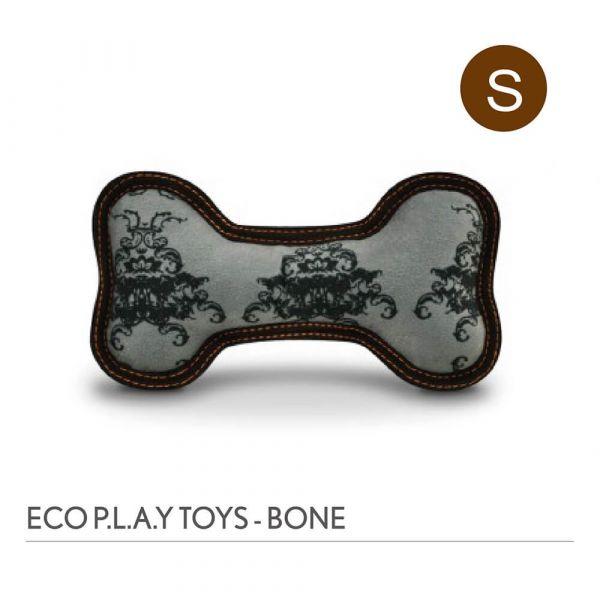 【寵物陪伴、抗憂鬱玩具】P.L.A.Y. 骨頭造型玩具S號-皇室徽章