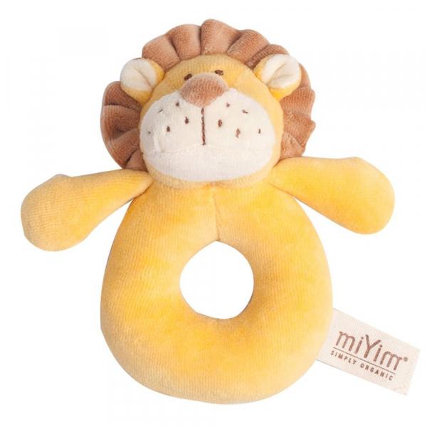 MIYIM有機棉手搖鈴 - 里歐獅子
