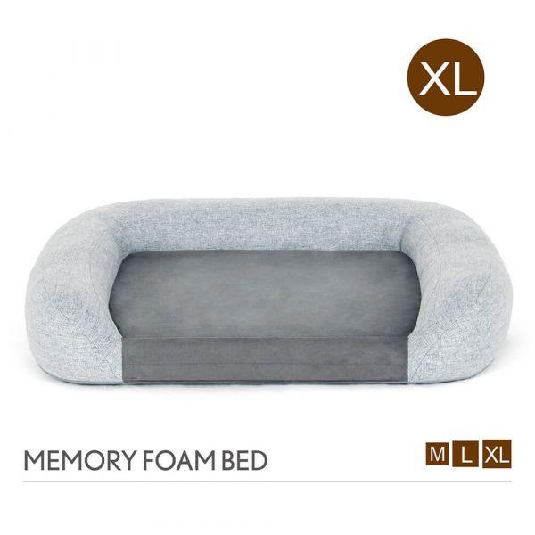【頂級寵物床墊、坐墊】P.L.A.Y. 加州舒夢記憶床組-XL號