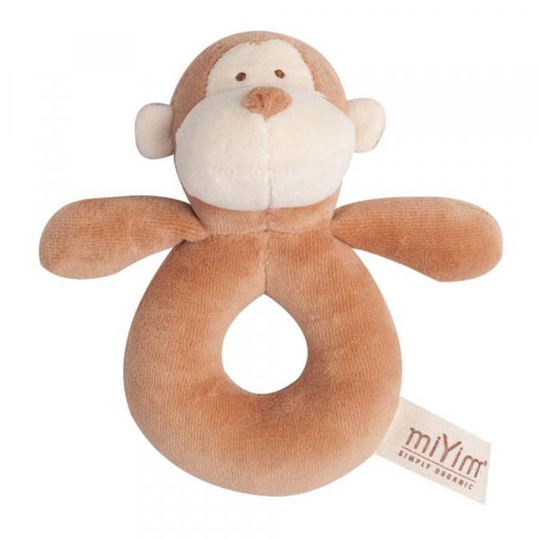 MIYIM有機棉手搖鈴 - 布布小猴
