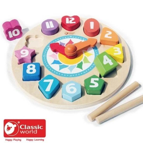 ♛ CLASSIC WORLD ♛ 時鐘立體拼板