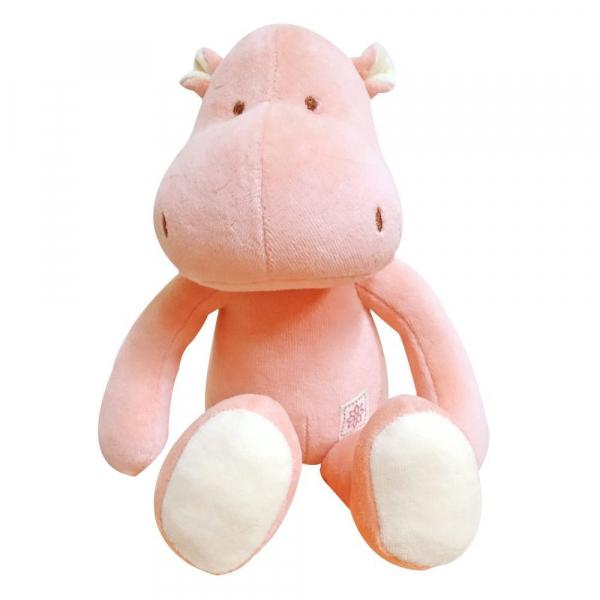 MIYIM有機棉安撫娃娃32CM - 喜寶河馬