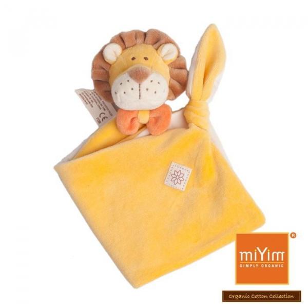 MIYIM有機棉安撫巾 - 里歐獅子