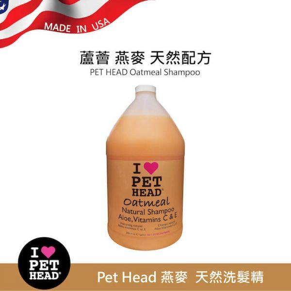 【純天然狗狗洗毛精】Pet Head 燕麥❤️天然洗毛精/洗髮精-加侖桶3.79L