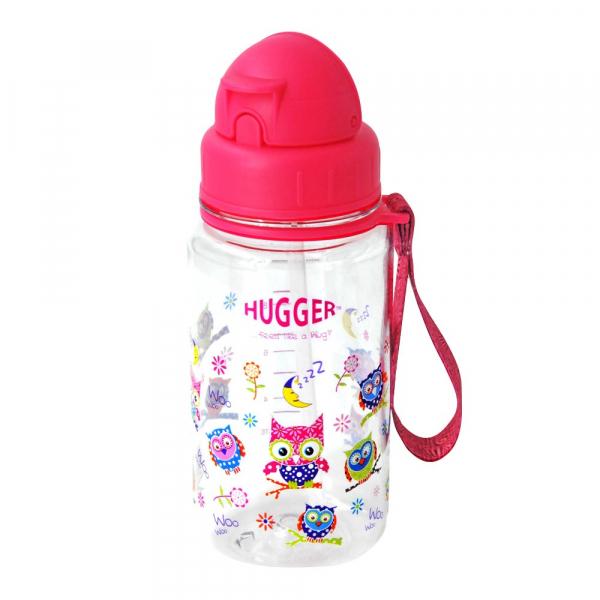 《英國HUGGER》吸管水壺 - 貓頭鷹