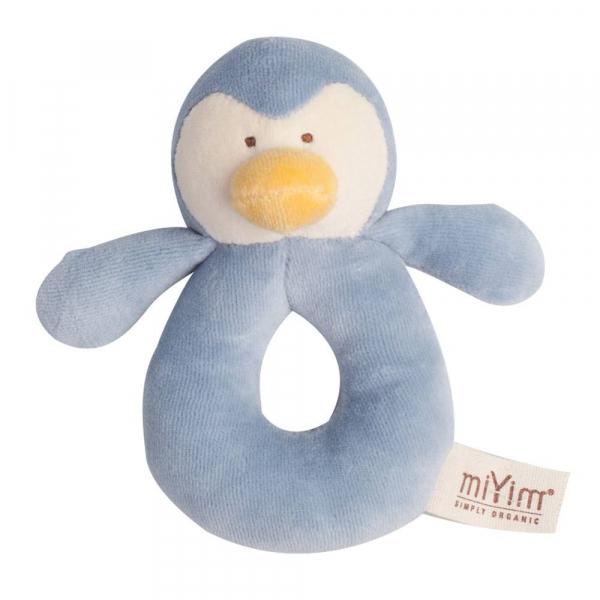 MIYIM有機棉手搖鈴 - 噗噗企鵝