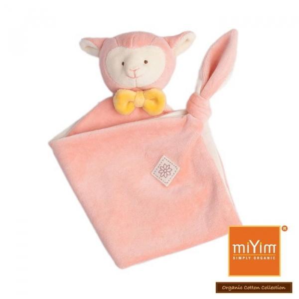 MIYIM有機棉安撫巾 - 亮寶羊羊