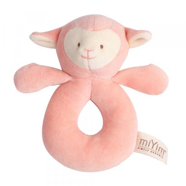 MIYIM有機棉手搖鈴 - 亮寶羊羊