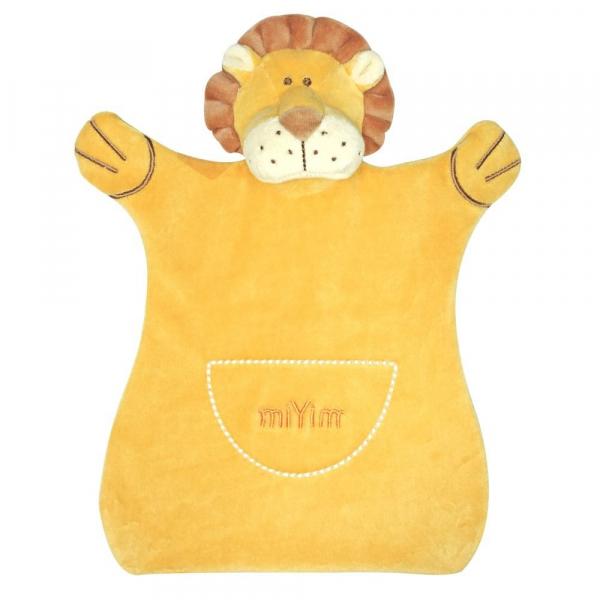 MIYIM有機棉手偶安撫巾 - 里歐獅子