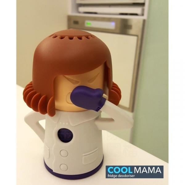 【COOL MAMA】除臭劑造型收納盒 - 咖啡白配色