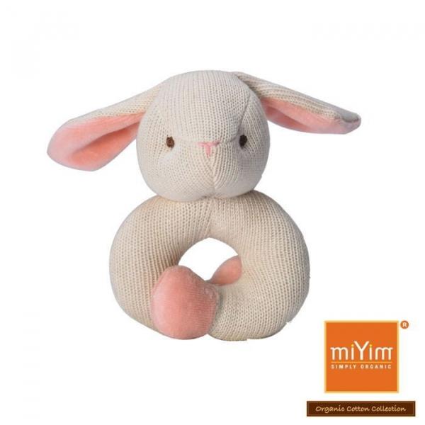 MIYIM有機棉固齒手環 - 兔兔