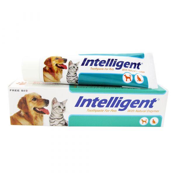 INTELLIGENT 因特力淨寵物酵素牙膏 80g