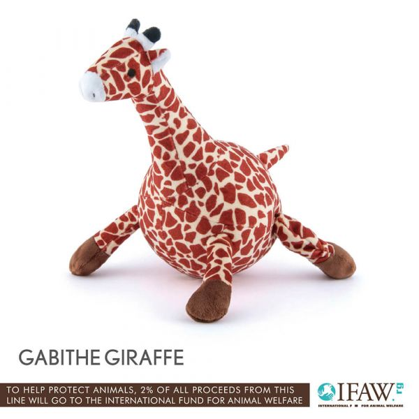 【寵物陪伴、抗憂鬱玩具】P.L.A.Y.狂野動物園-長頸鹿