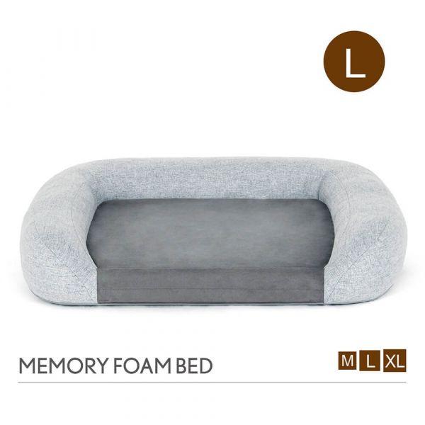 【頂級寵物床墊、坐墊】P.L.A.Y. 加州舒夢記憶床組-L號