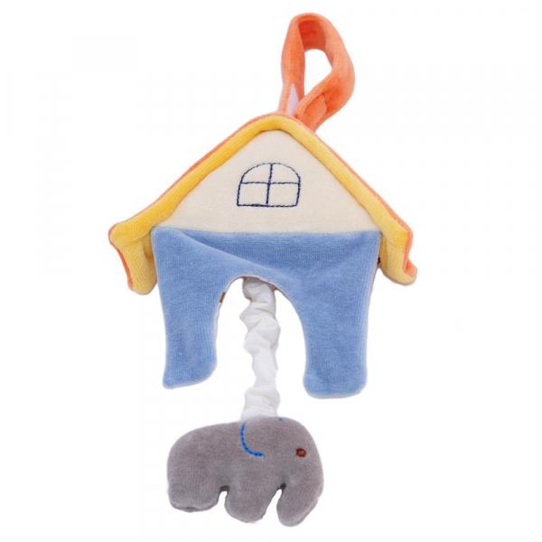 MIYIM有機棉音樂拉鈴 - 大象房屋
