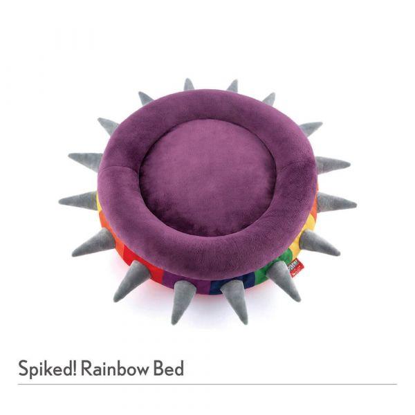 【寵物陪伴、抗憂鬱玩具】P.L.A.Y.龐克鉚釘彩虹床_S