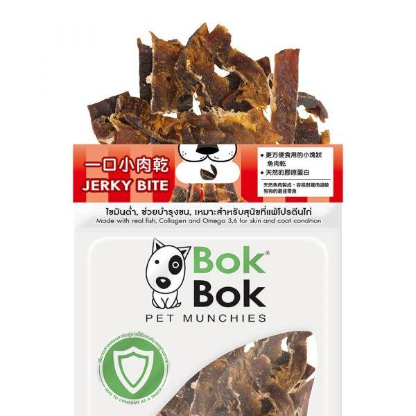 【天然健康狗狗零食】BokBok鮮吃魚-一口小肉乾50g