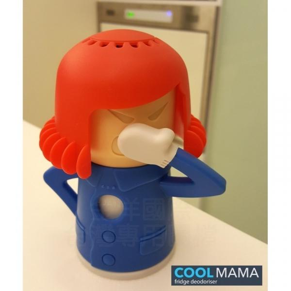 【COOL MAMA】除臭劑造型收納盒 - 紅藍配色