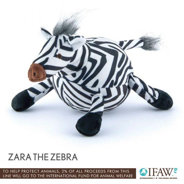 【寵物陪伴、抗憂鬱玩具】P.L.A.Y.狂野動物園-斑馬