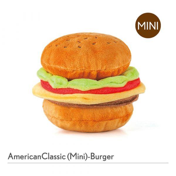 【寵物陪伴、抗憂鬱玩具】P.L.A.Y.美式速食(迷你組)-迷你漢堡