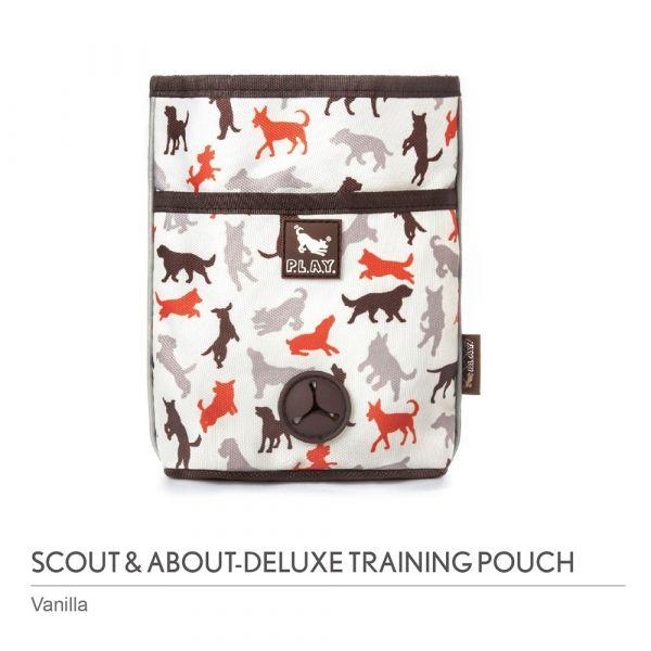 【寵物陪伴、抗憂鬱玩具】P.L.A.Y. 露營野趣-多功能寵物訓練袋
