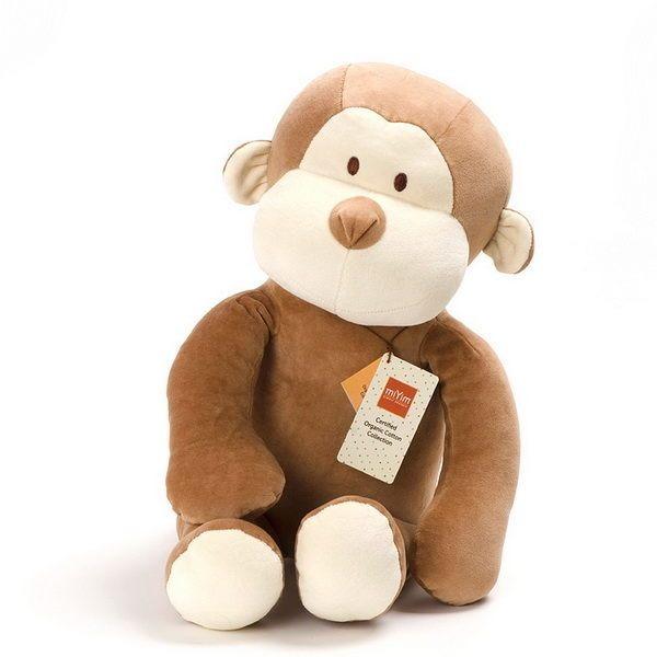 MIYIM有機棉安撫娃娃60CM - 布布小猴