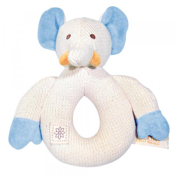 MIYIM有機棉固齒手環 - 大象