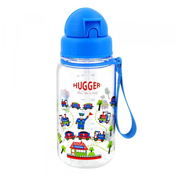 《英國HUGGER》吸管水壺 - 嘟嘟火車
