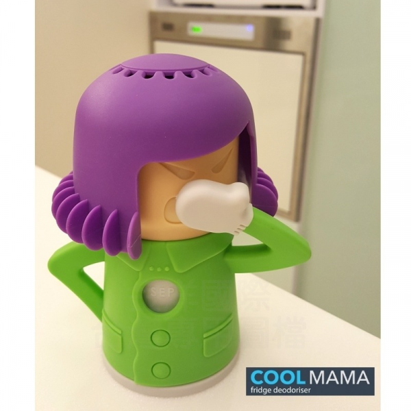 【COOL MAMA】除臭劑造型收納盒 - 紫綠配色