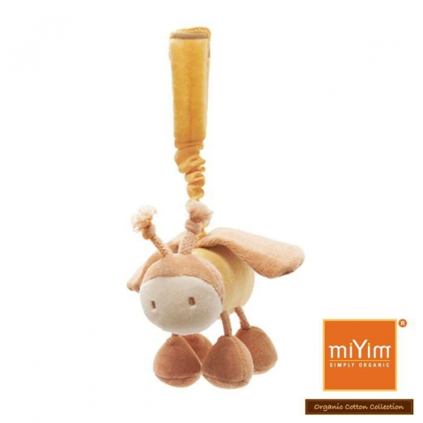 MIYIM有機棉吊掛娃娃 - 貝利蜜蜂