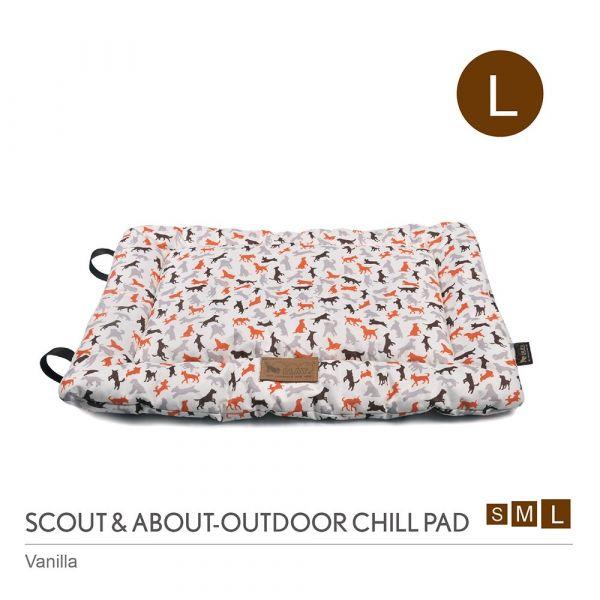【頂級寵物床墊、坐墊】P.L.A.Y. 露營野趣-攜帶舒活墊_L(共2色)