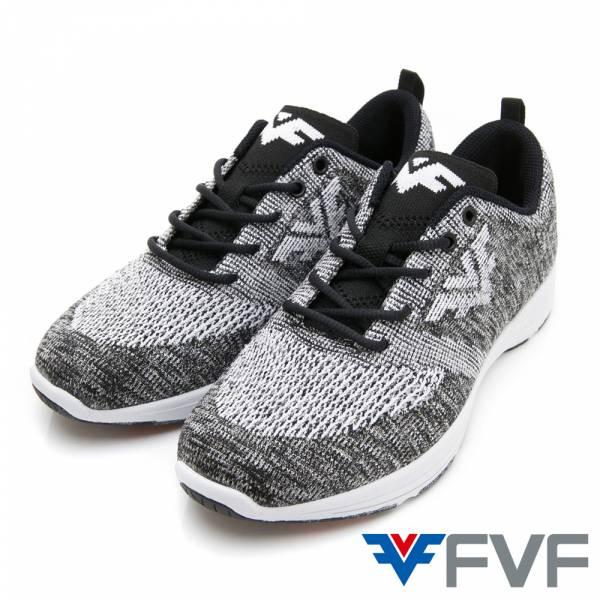 Function機能慢跑編織鞋-混紡灰