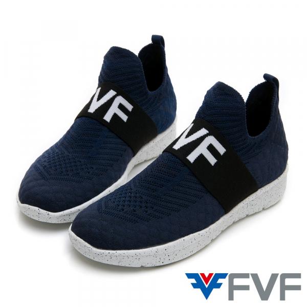 Sock 襪套編織鞋-藍
