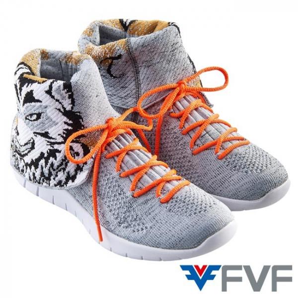 Timberwolves森林狼休閒編織鞋-灰