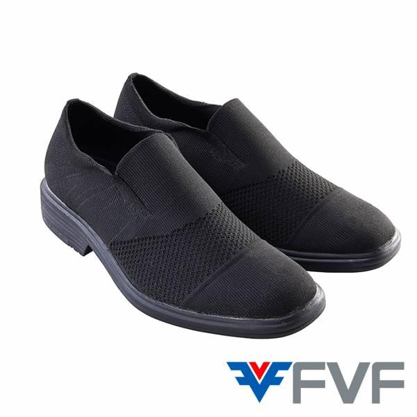 Worker 紳士編織鞋-黑