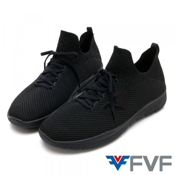 Burrow 休閒編織鞋-黑