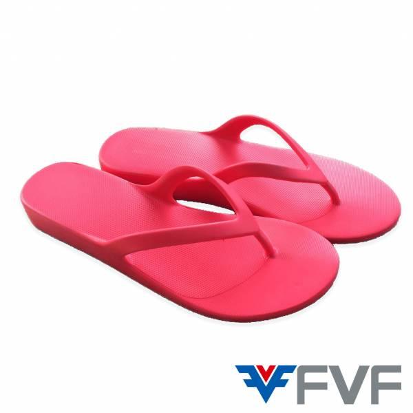 繽紛時尚厚底夾腳拖鞋-桃紅 人字拖,拖鞋,夾腳拖,增高夾腳拖
