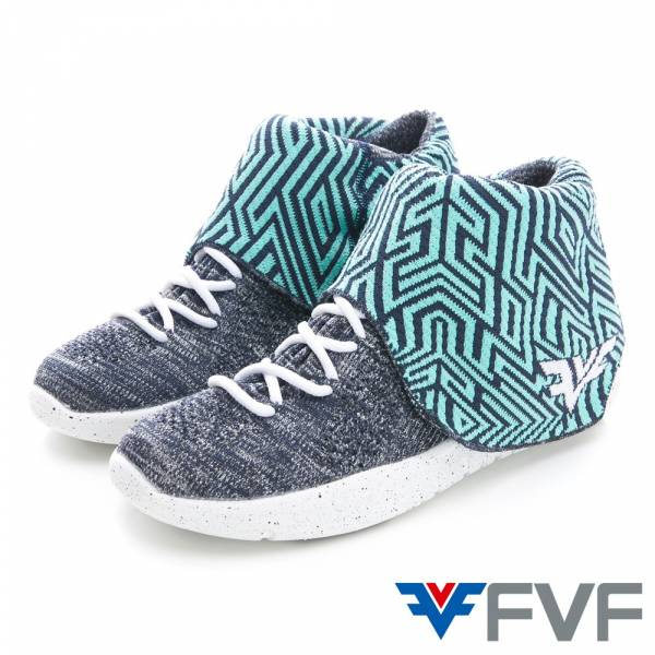 Maze迷宫休閒編織鞋-綠藍