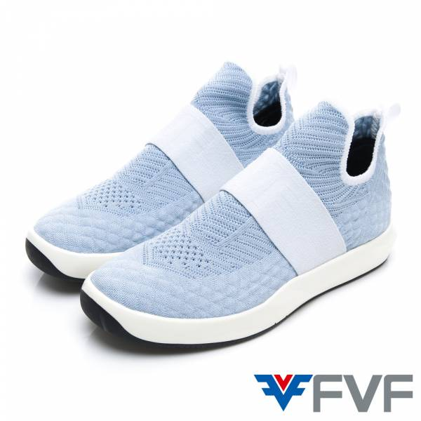 Sock 線條感鞋底編織鞋-BL
