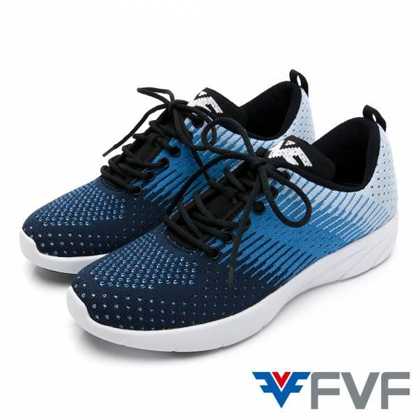 Gradient 漸層設計編織鞋-藍