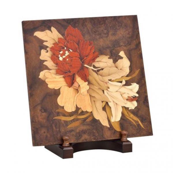 木箔藝術禮品-桌飾-滿庭芳 藝術,禮品,桌飾,花語,送禮推薦,紀念品,客製化