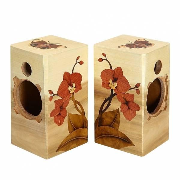 木箔藝術禮品-音箱-蘭花 藝術,禮品,蘭花
