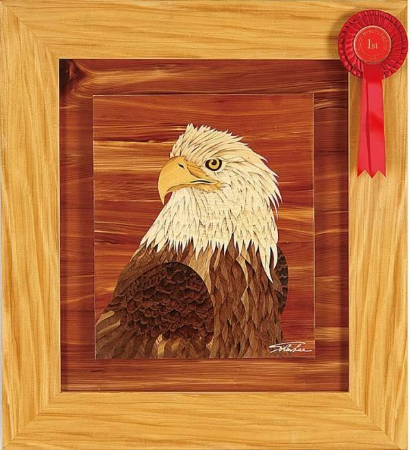 木箔藝術畫作-鷹 畫,藝術,榮耀,冠軍,老鷹
