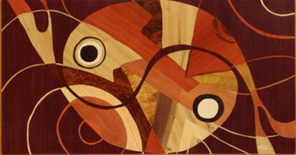 木箔藝術畫作-太極 畫,藝術,太極