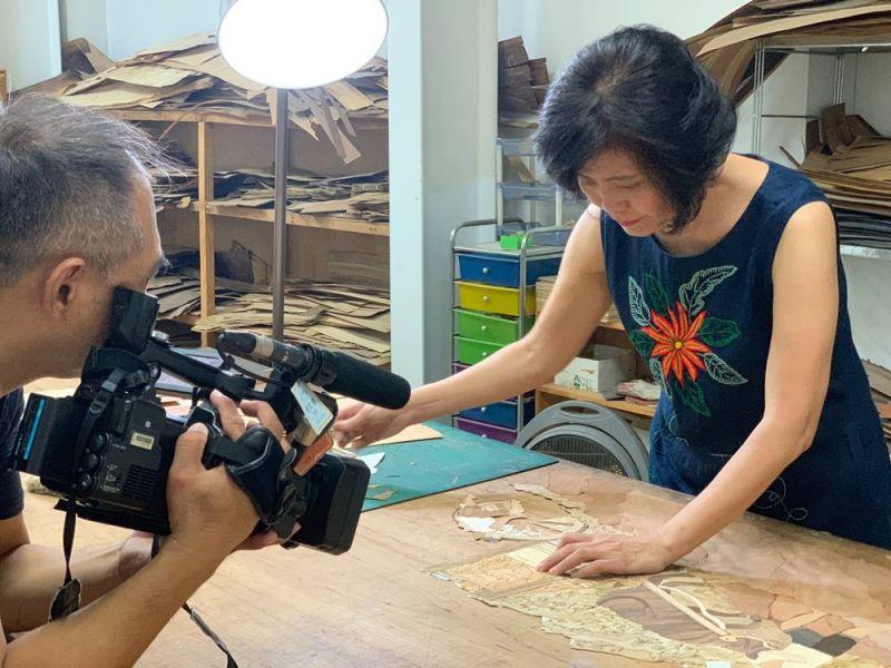 感謝民視新聞台採訪報導 客戶好評,木皮板,裝潢板材,實木桌,原木大板