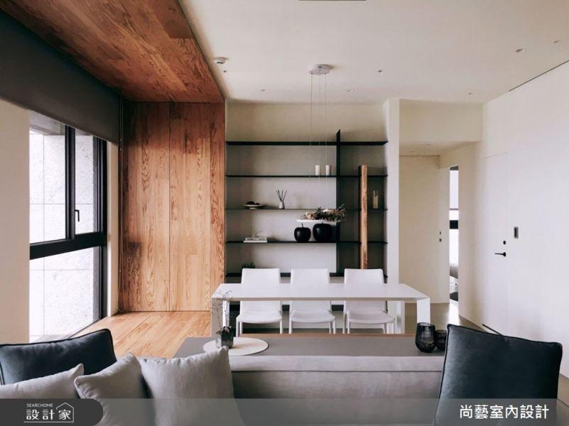 案例分享-在家,不僅放鬆更像是在欣賞一幅畫 裝潢,新聞,健康,廢棄物,實木皮板,木皮板,質感,德屋建材,天然,健康,