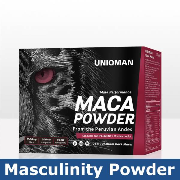 UNIQMAN Maca Powder  (2g/pack)【Masculinity Powder】 Maca, Maca powder, Healthy Sexual Activity