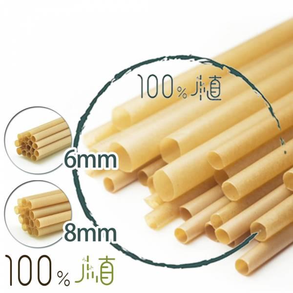 【100%植】100%植甘蔗環保吸管斜口